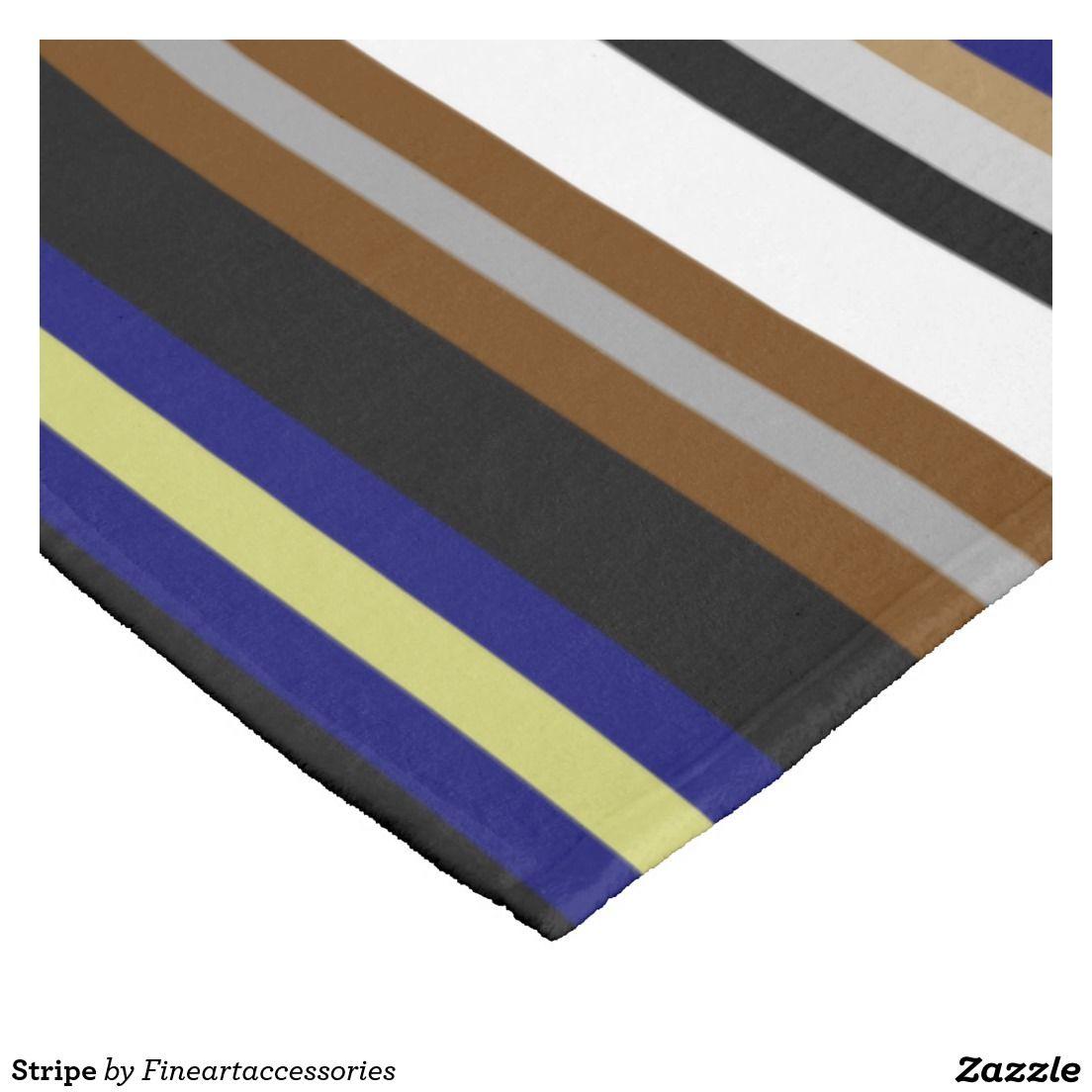 Stripe fleece blanket blanket