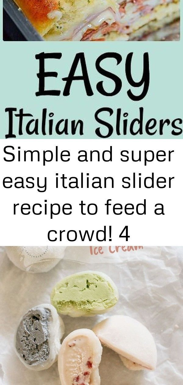Photo of Food Photography: Simple and super easy italian slider recipe to feed a crowd! 4