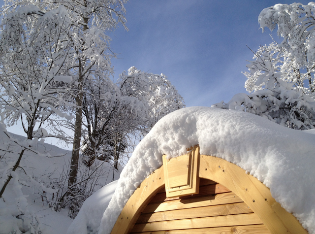 coolest cabins snow pods a lovely setting www coolestcabins com
