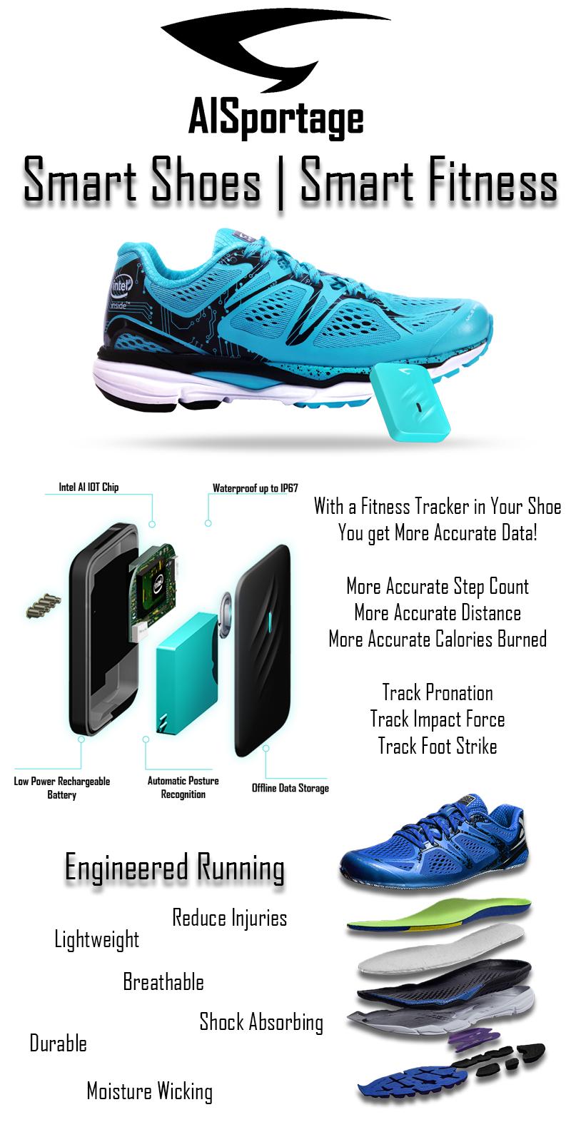 Digital Running Shoes – Smart AI Shoes