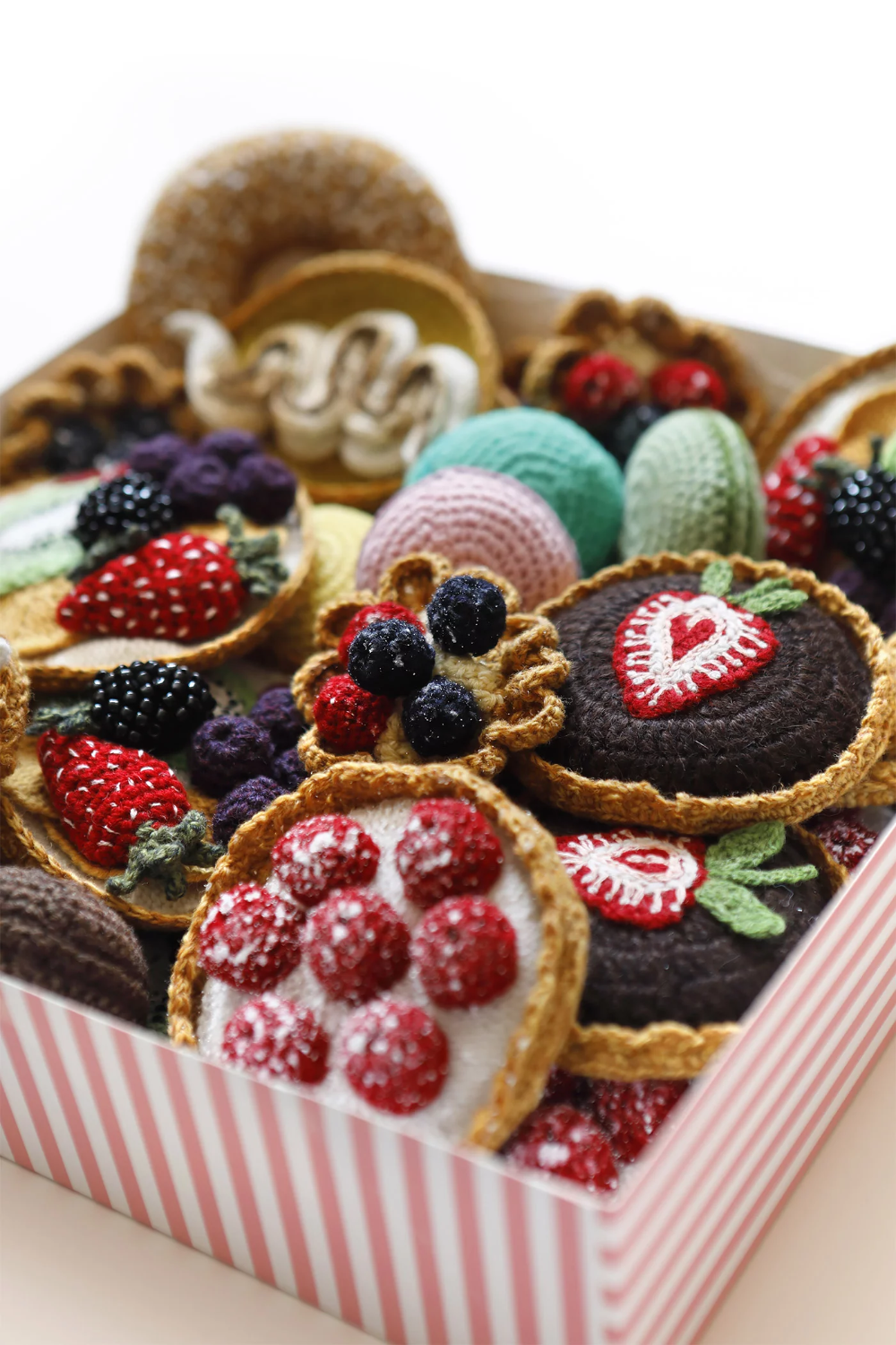 Knitted Food Artworks
