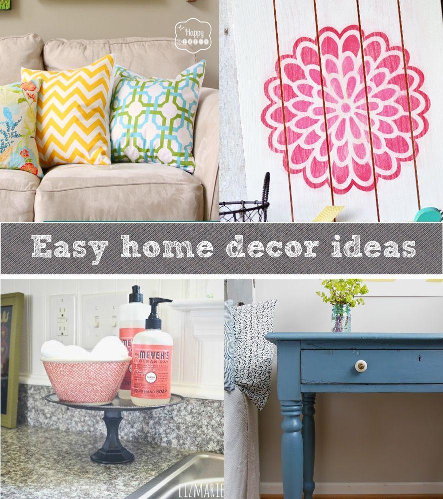 Easy Home Decor Crafts Valoblogi Com