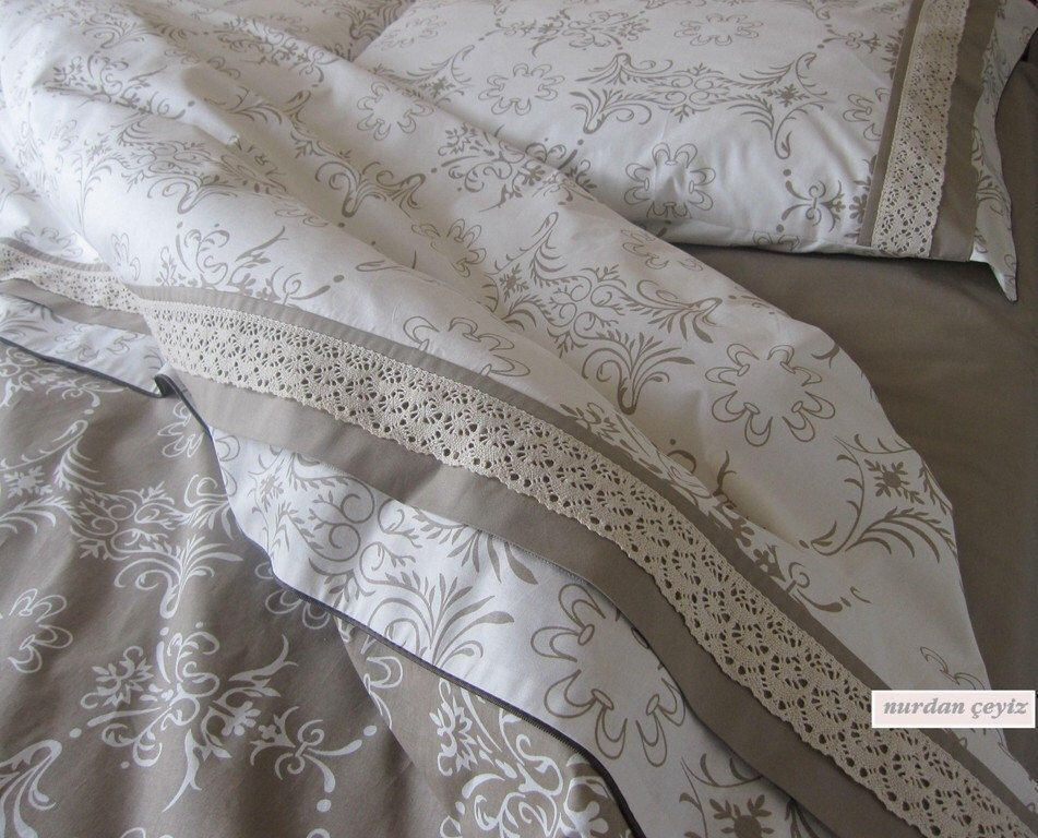 cal king or queen custom size duvet cover french country home cotton lace trim bedding 3