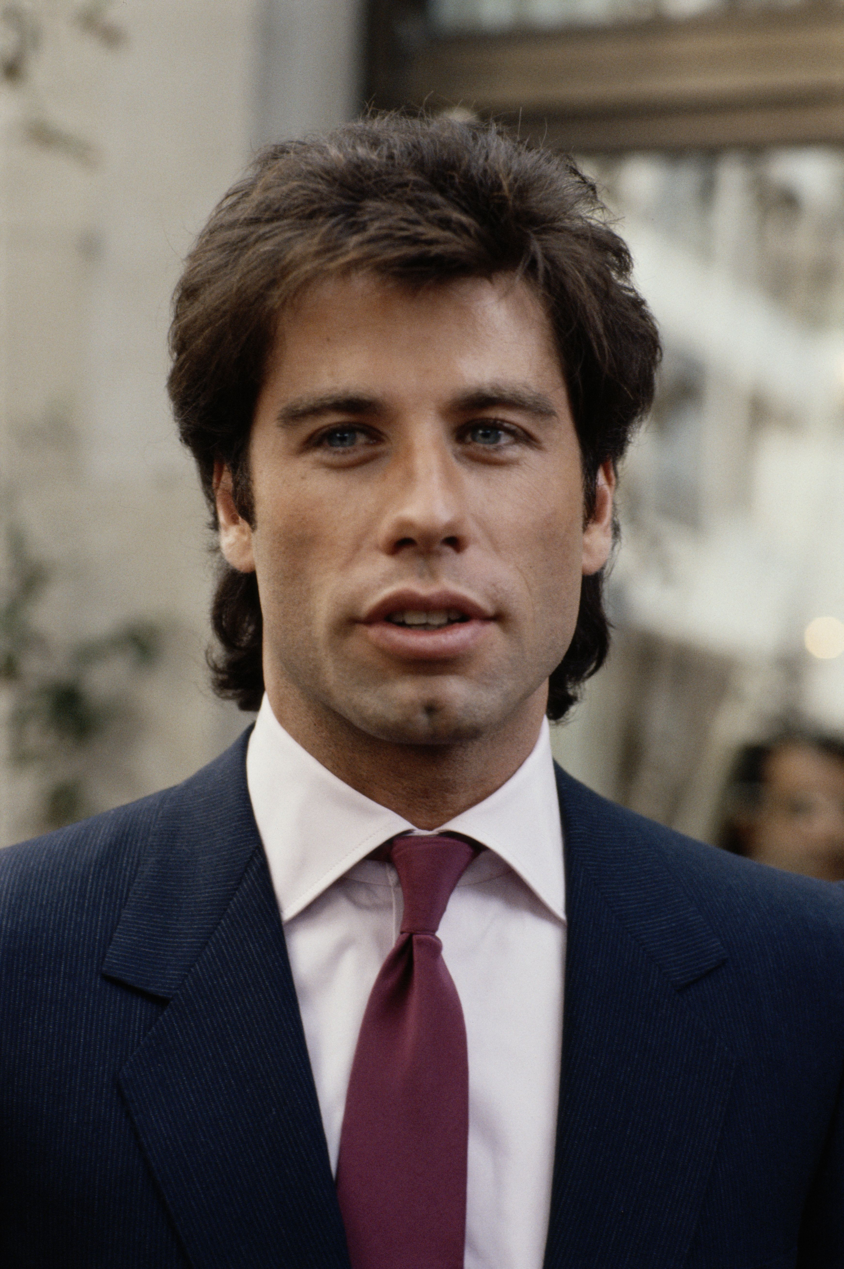 John Travolta - when he was young .