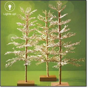 Avon Decorative Light Up Tree Light Up Your Tabletop Pre Strung With