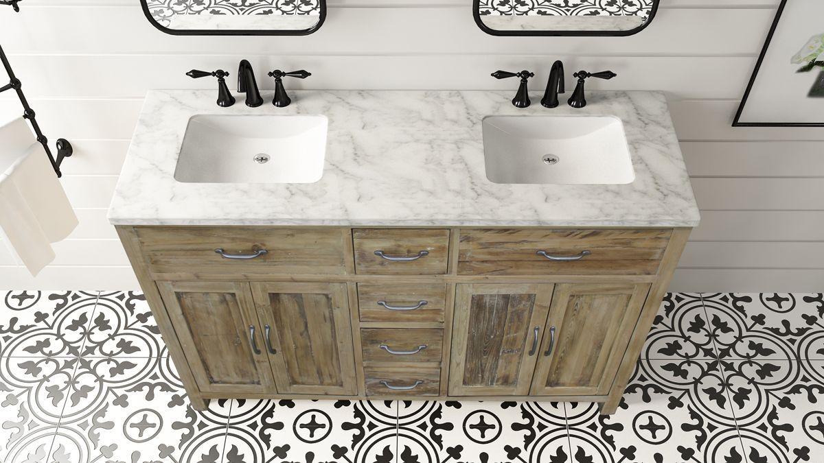 72 Woodland Italian Carrara Marble Natural Pine Bathroom Vanity Remodel Italian Bathroom Design Carrara Marble