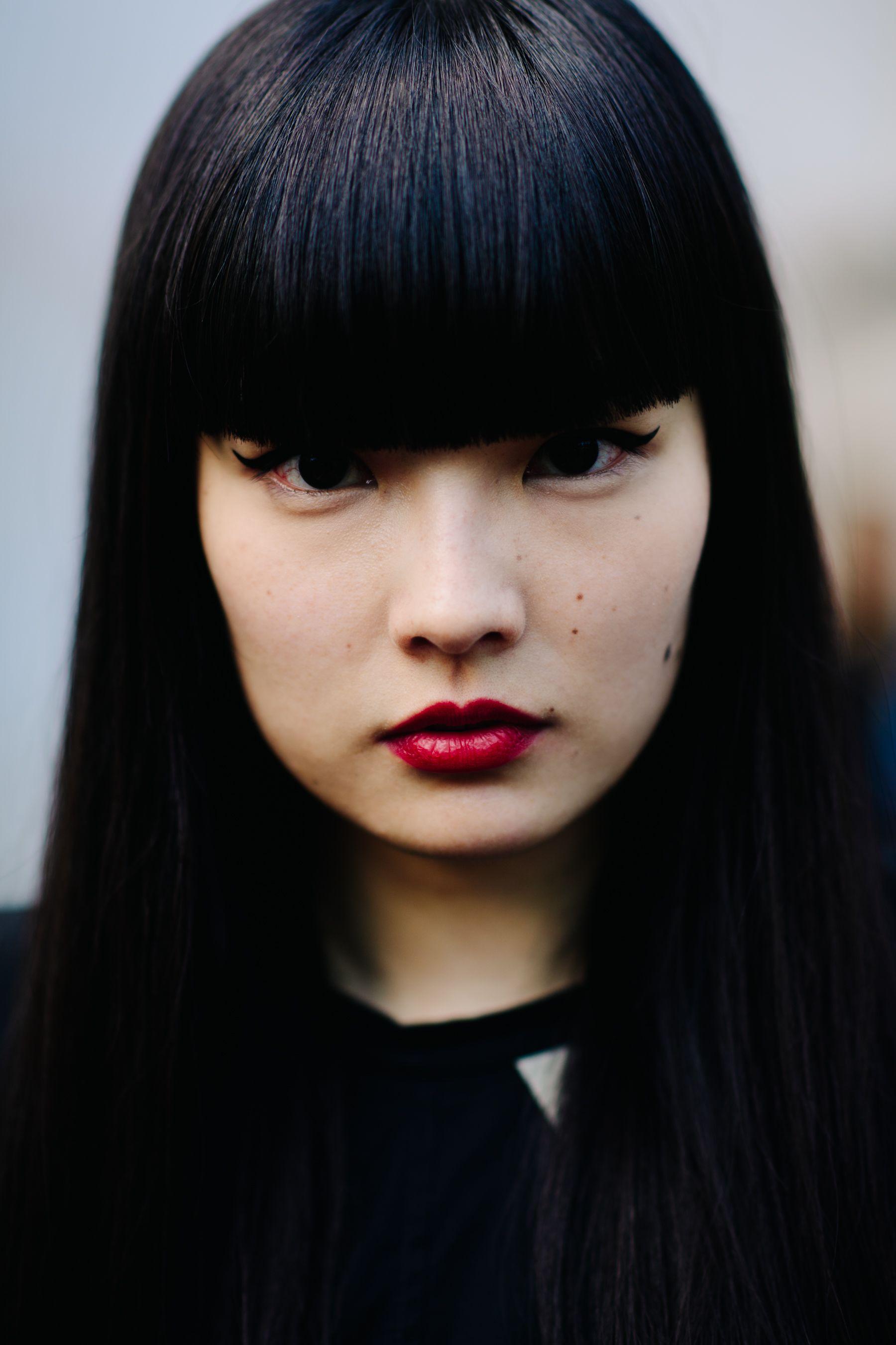 Kozue Akimoto Paris hair Pinterest