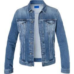 Gas Herren Jeans Jacke, Baumwoll-Stretch 12oz, hellblau Gasgas