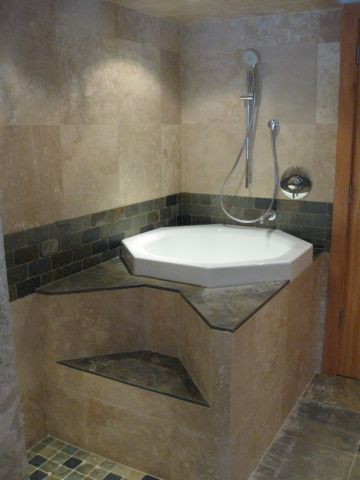 Millsap Tile and Stone: This is a very unique Japanese soaking tub ...
