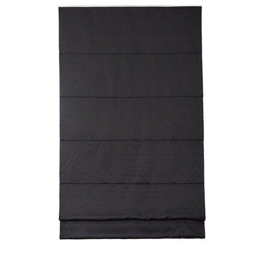 Store Bateau Occultant Polyester Blackout Inspire Gris Galet N 1 50x250 Cm 30 E Dressing Gris Galet Galets Store Bateau