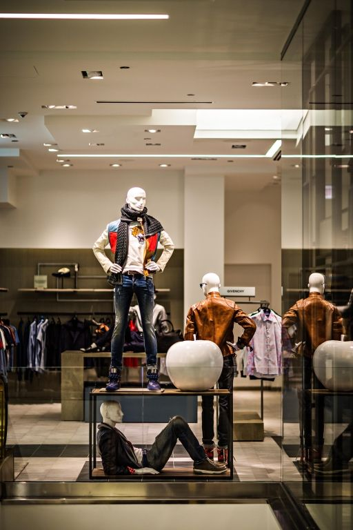 Male Call Store Design Boutique Store Plan Retail Windows