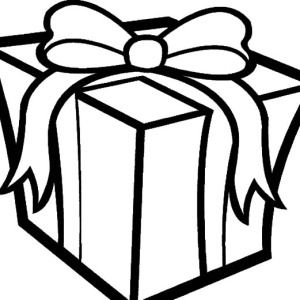 Christmas Presents Big Box Of Coloring Pages
