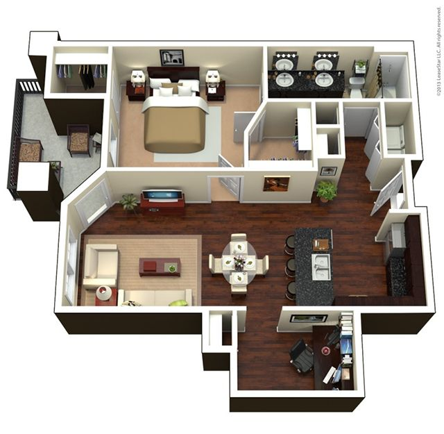 Overland Park Apartments Floor Plans