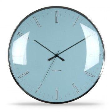 Karlsson Uhr wanduhr dragonfly blau karlsson uhren retro