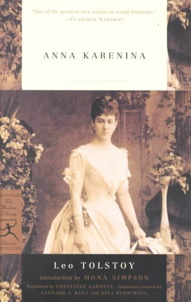 Anna Karenina- Leo Tolstoy   Movie comes out this holiday season