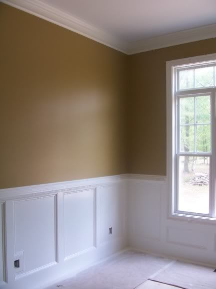 Finally Picked My Dining Room And Accent Wall Staircase In Family Room Pain