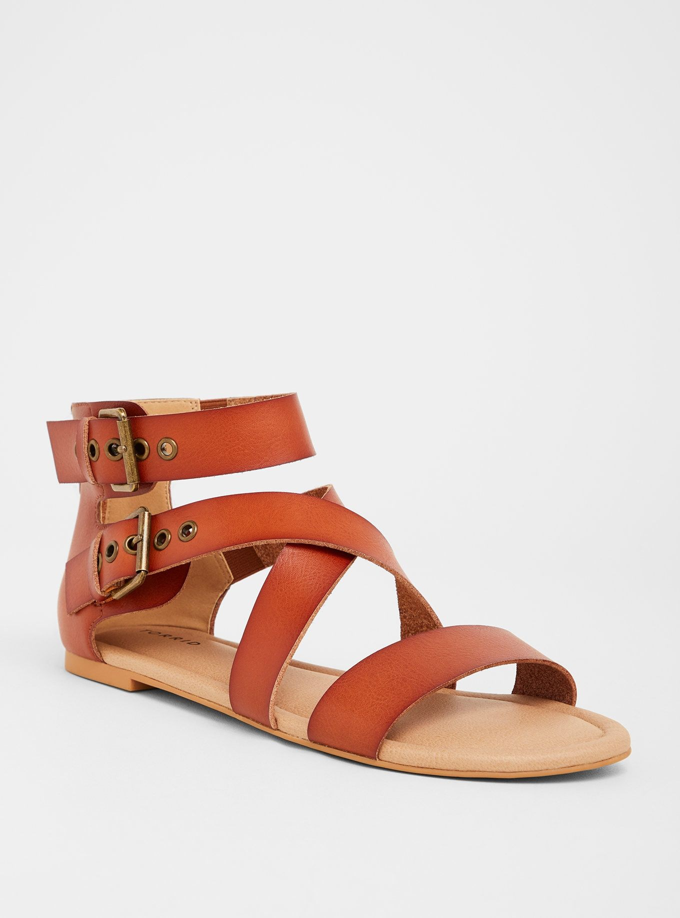 30b1ae65e9f Tan Gladiator Sandal (Wide Width)