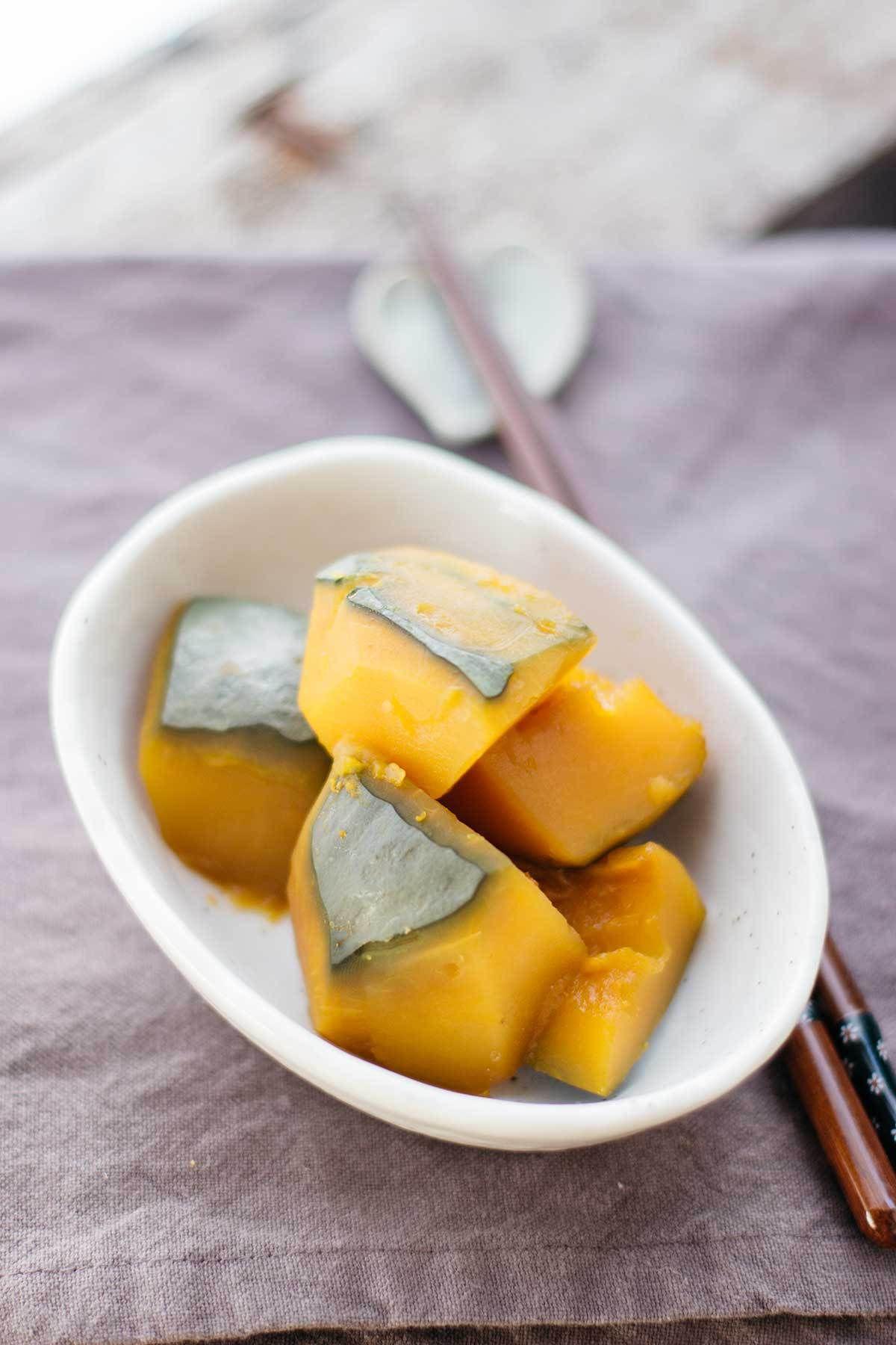 Amakara Okinawa Kabocha No Nimono Recipe Japanese Food Food And Asian Food