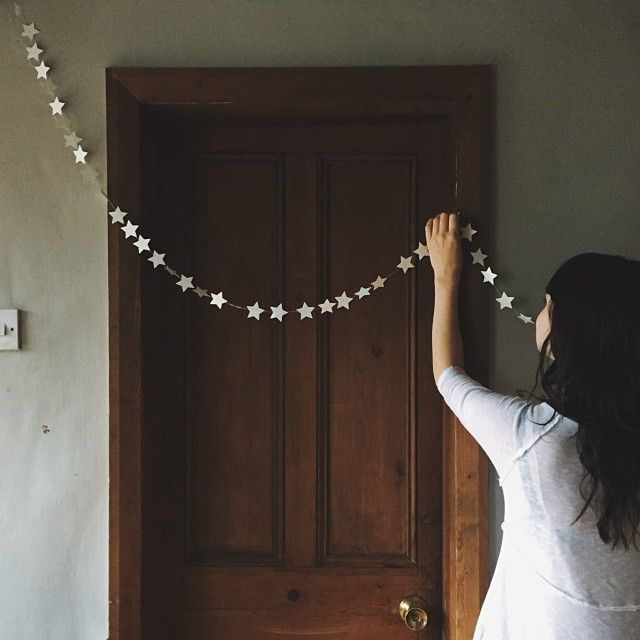 simple christmas star garland by Love Bex - me_and_orla's photo on Instagram
