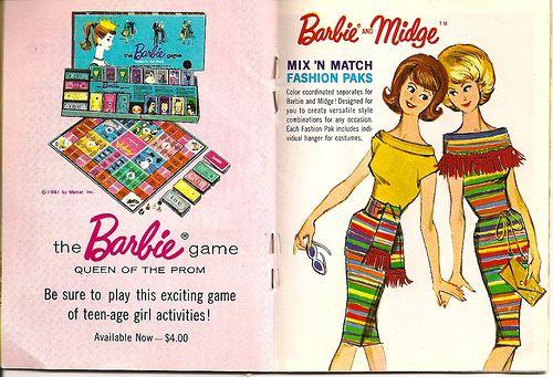 Barbie Midge Mix N Match Fashion Paks Barbie Barbie Games Matches Fashion