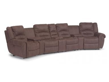Shop For Flexsteel Power Reclining Sectional 1410 Sect And Other