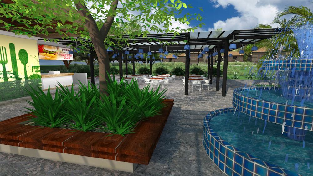 Disenos Y Planos De Parques Recreativos Estilo Bora Bora Proyecto Pr K1 En 2020 Disenos De Unas Parques Planos