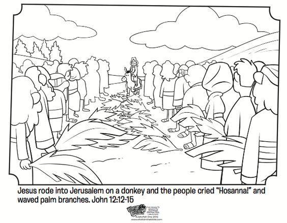 Palm Sunday: | FF Class ideas | Pinterest