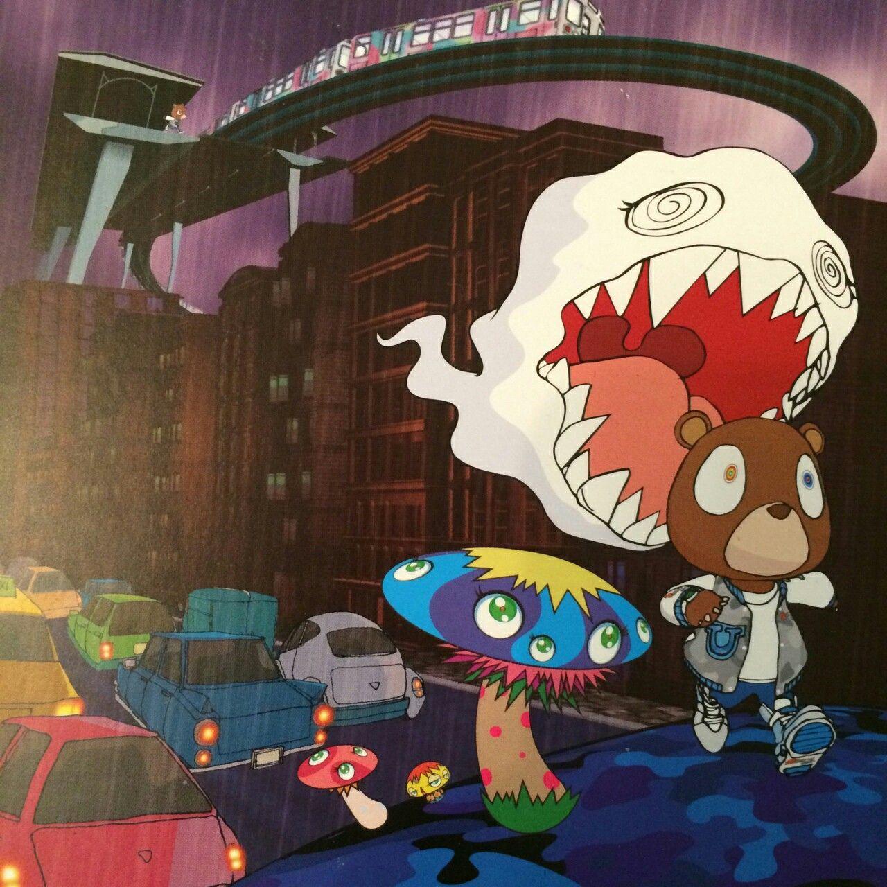 Kanye West Album Art Takashi Murakami Art Kanye West Tattoo Kanye West Bear