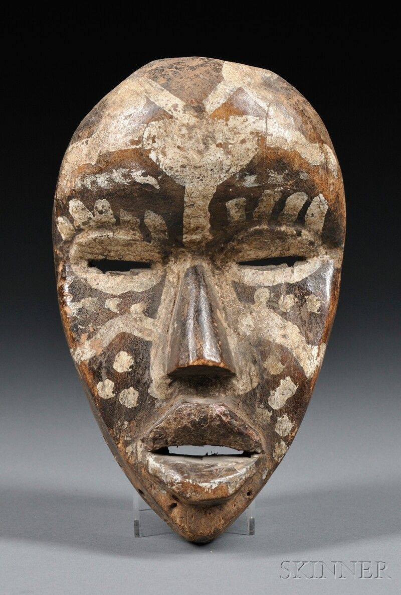 Dan Mask, Africa, patina of use, ht 8 in