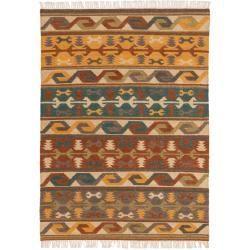 Kilim rugs -  benuta Naturals hand-woven kilim Zohra Multicolor 160×230 cm – Modern colorful carpet for living - #antiquedecor #apartmentdecor #bedroomdecor #homedecor #kilim #rugs