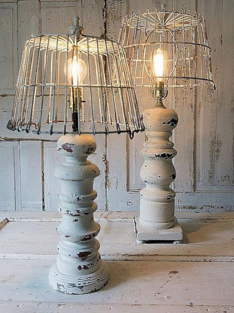 Stunning rustic table lamps design ideas 04 (With images