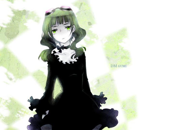 Gumi Megpoid - Vocaloid (Looks like Dead Master from Black Rock Shooter here.)