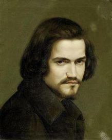 Polish School, 19th Century, portrait of a young man.