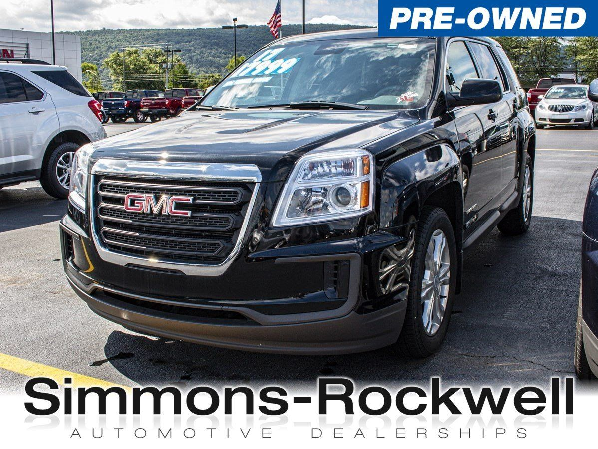 Simmons Rockwell Used >> Used 2017 Gmc Terrain From Simmons Rockwell In Elmira Ny