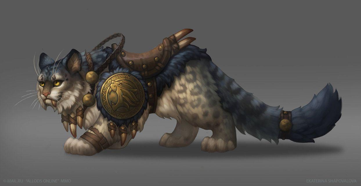 Fantasy Riding Big Cat