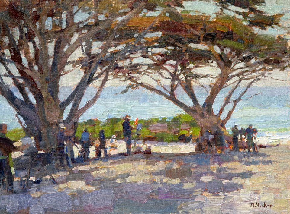 Jim McVicker · 12x16 Carmel Beach