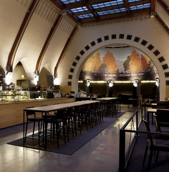 Café Jugend - Opened in 1904 at the heart of Helsinki, the Uschakoff Building, originally a banking hall – is one of the best examples of Finnish Jugend (or Art Noveau) architecture and an important piece of Finnish heritage...