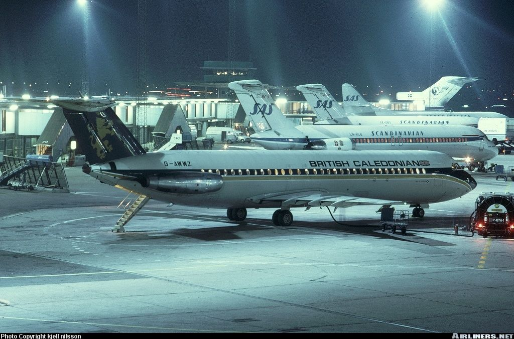 BAC 111509EW OneEleven aircraft picture British