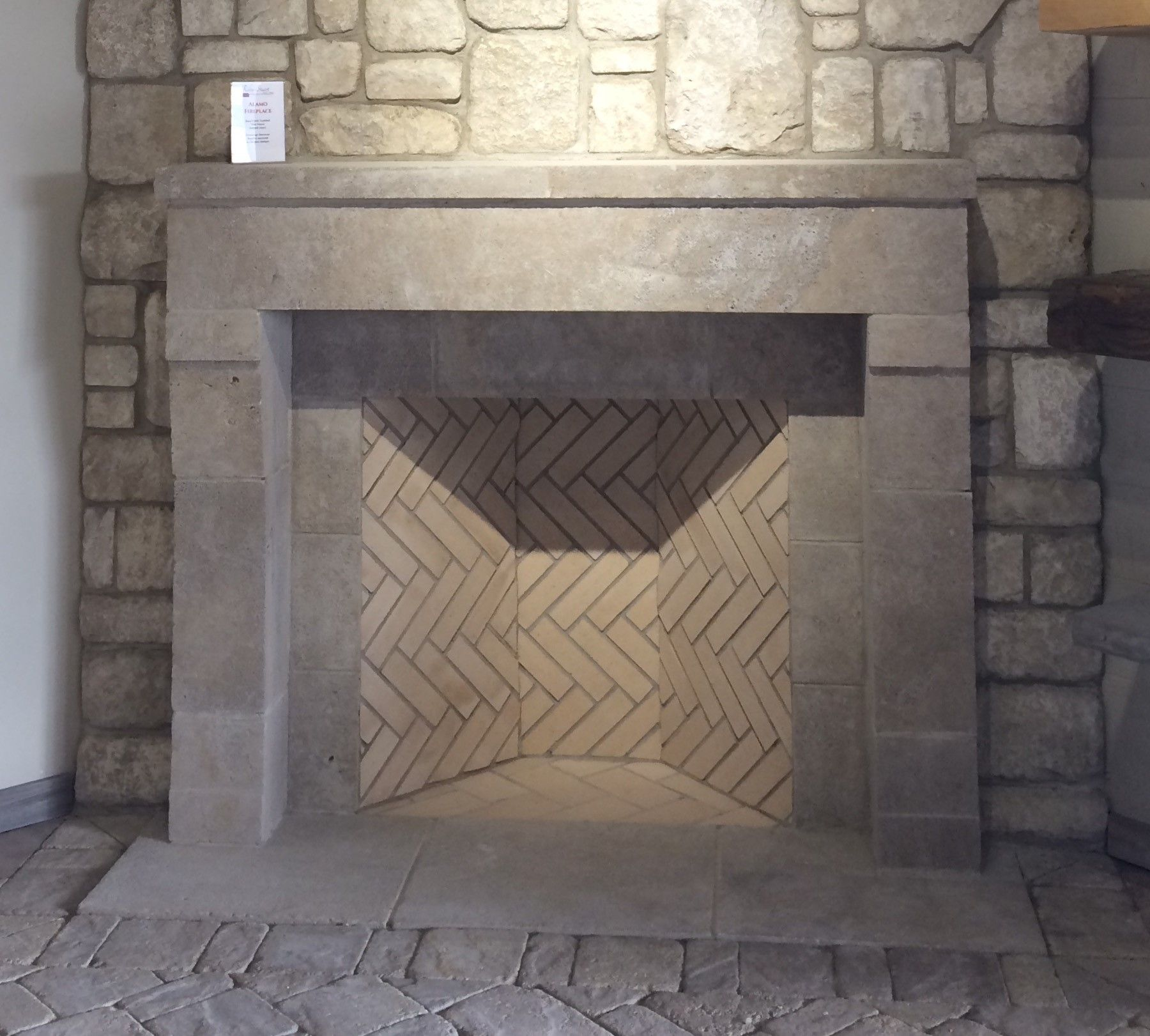 limestone fireplace surround home pinterest fireplace