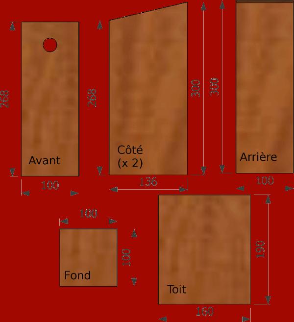 le nichoir bo te lettres c 39 est le nichoir le plus. Black Bedroom Furniture Sets. Home Design Ideas