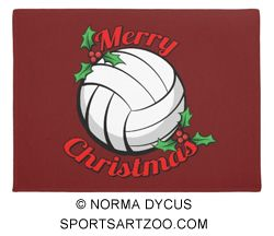 Volleyball Merry Christmas Doormat Zazzle Com Christmas Doormat Merry Volleyball Christmas