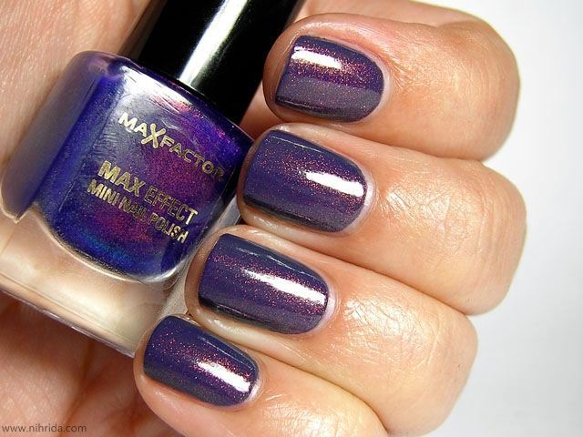 Max Factor Fantasy Fire over BYS Matte Charcoal | Nails | Pinterest