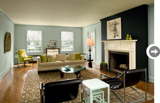 2 Accent Walls how to: create accent walls | navy accent walls