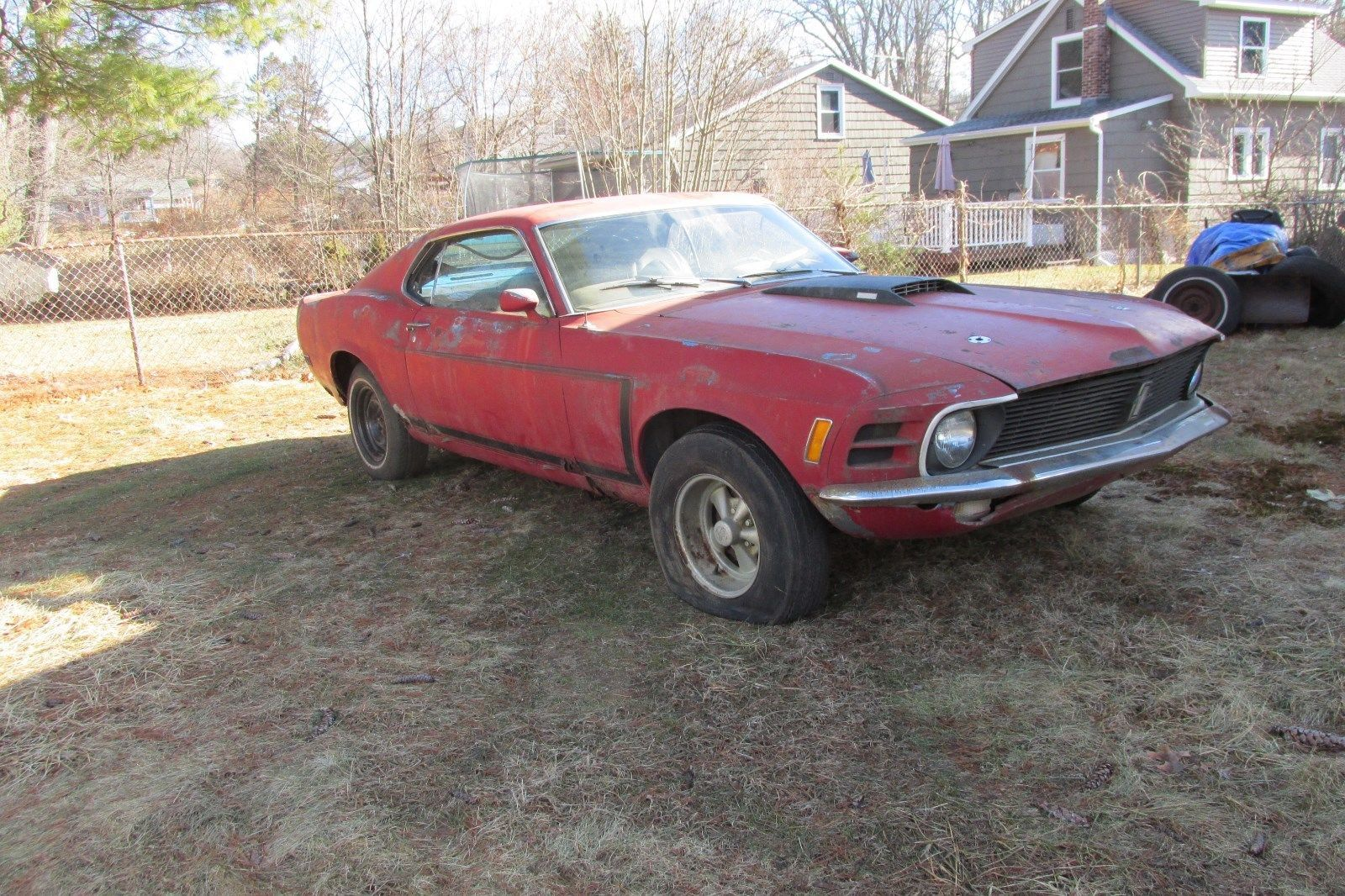 Nice Great 1970 Ford Mustang 1970 MUSTANG FASTBACK 302, AT BARN FIND ...