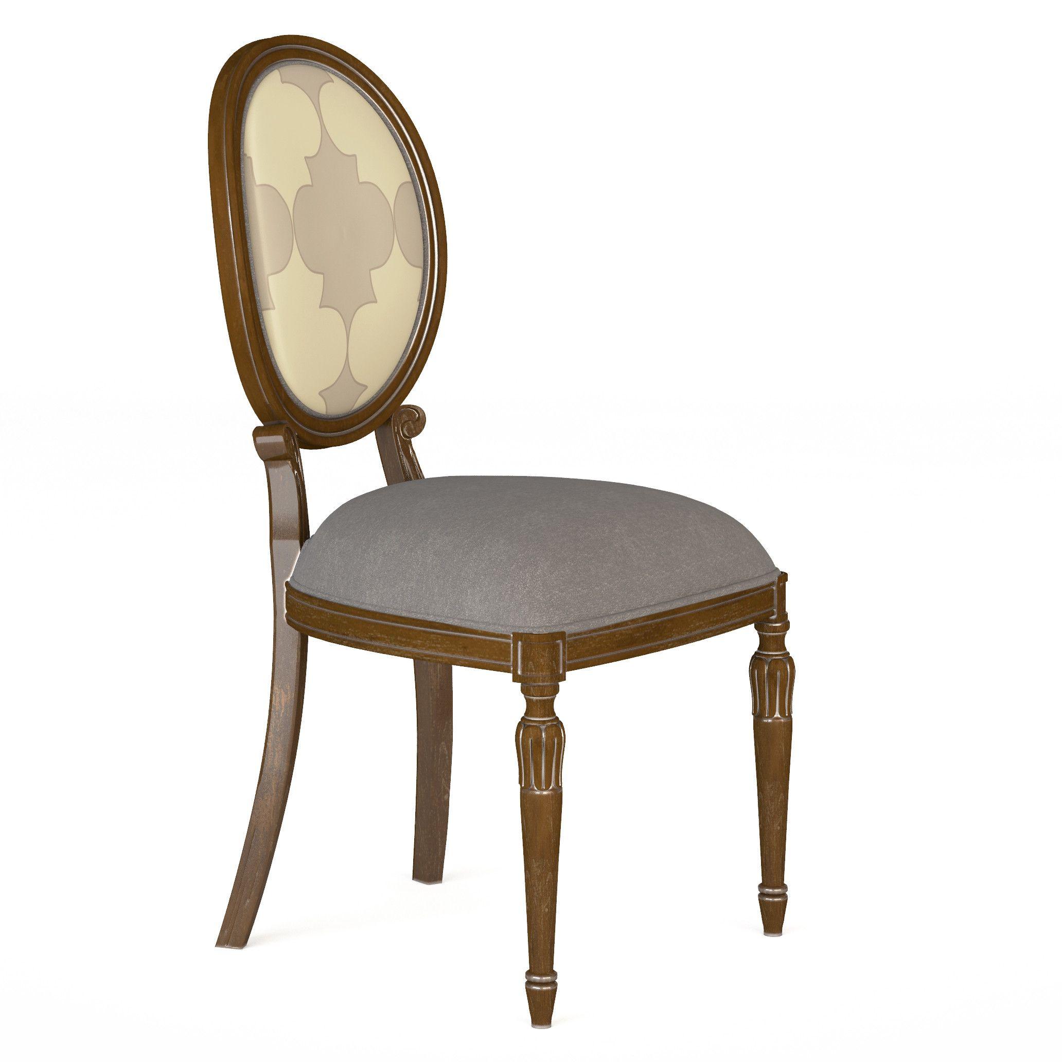 3D max chair furniture carved Krzesło model 3d spisestol 3d modell pranzo sedia modello 3D