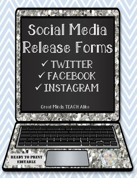 Social Media Release Forms TwitterFacebookInstagram Updated