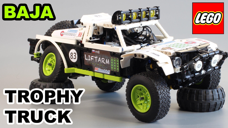 lego technic baja trophy truck lego technic modelle. Black Bedroom Furniture Sets. Home Design Ideas