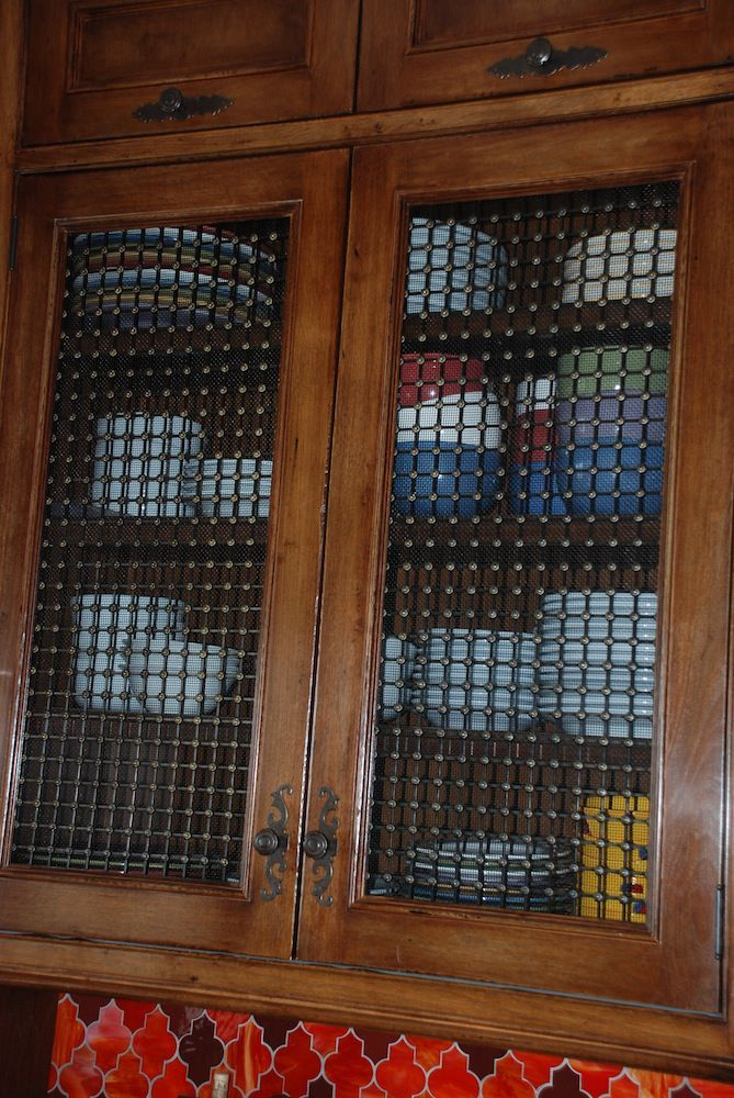 decorative grilles for kitchen cabinets ideas Decorative grilles on Kitchen cabinetry. Made in England.