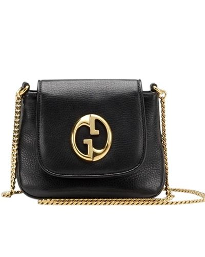 cf1fc775e76 Gucci 1973 small shoulder bag black -  269