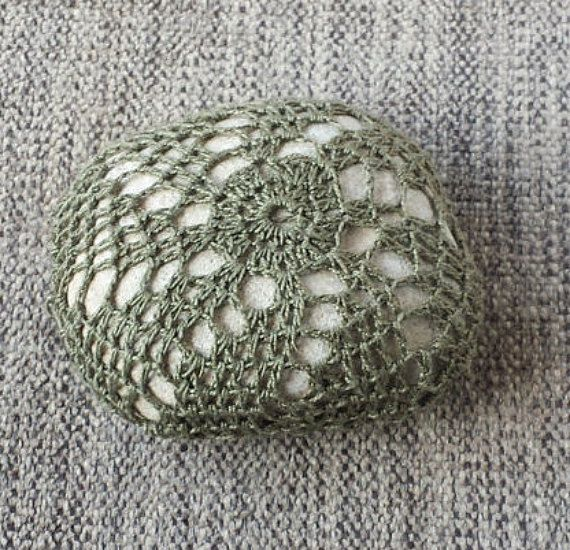 Crochet Stone 4 Ancosa's collection by Petrasoul on Etsy